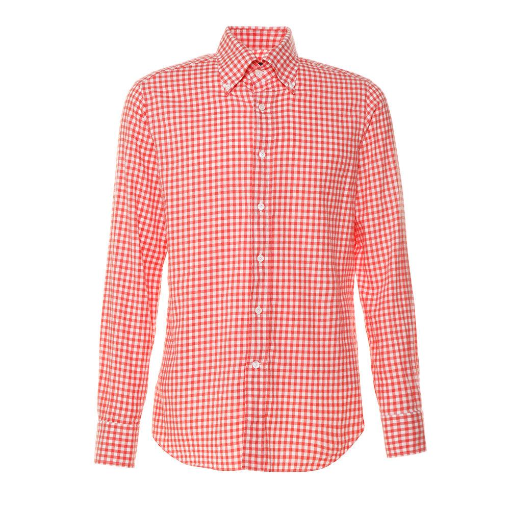 quality design 0077c 92b66 Camicia a quadretti rossa e bianca - Alessandro Gherardi - Acquista su  Ventis.