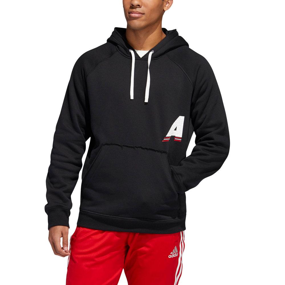 Felpa con cappuccio Adidas Marquee nera