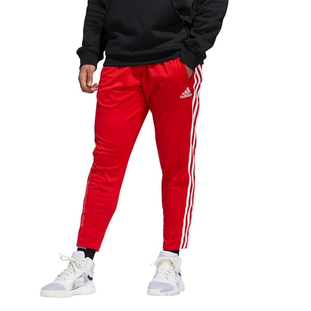pantaloni rossi donna adidas