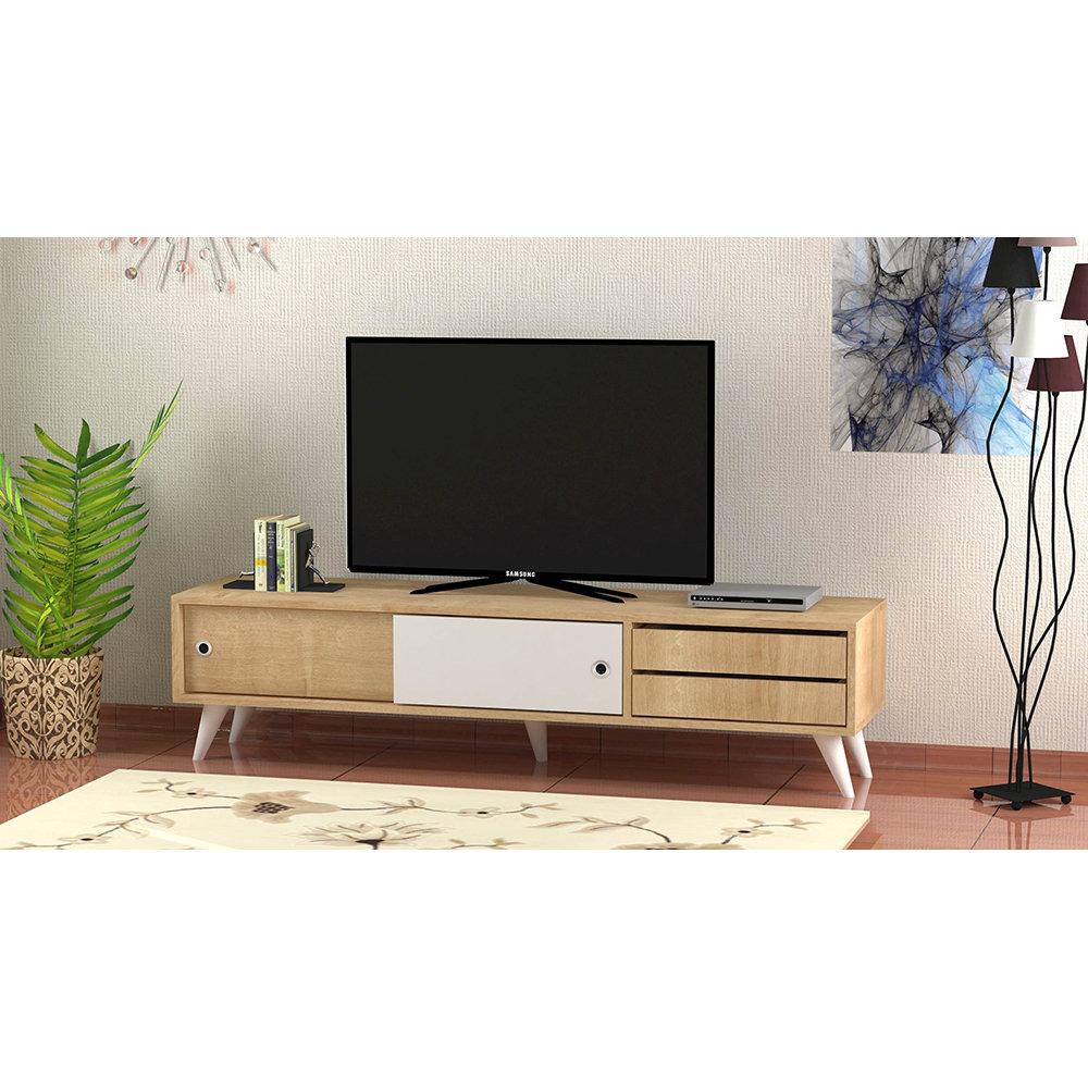 Mobile porta tv eduardo quercia bianco casa nuova for Nuova arredo inserimenti