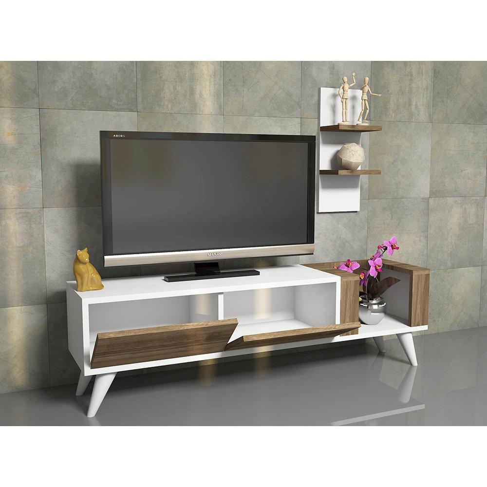 Mobile porta tv pers bianco noce casa nuova arredo for Nuova arredo inserimenti