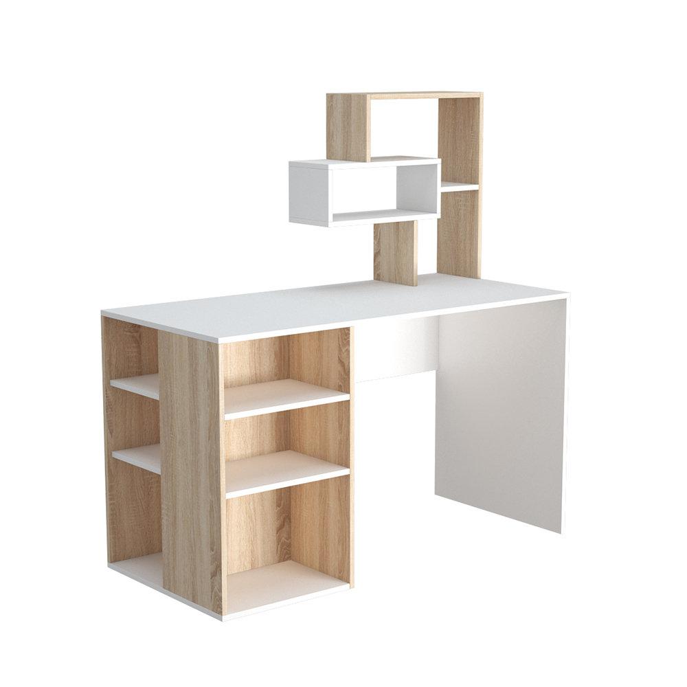 Scrivania ermes bianco legno casa nuova arredo nuovo for Nuova arredo inserimenti