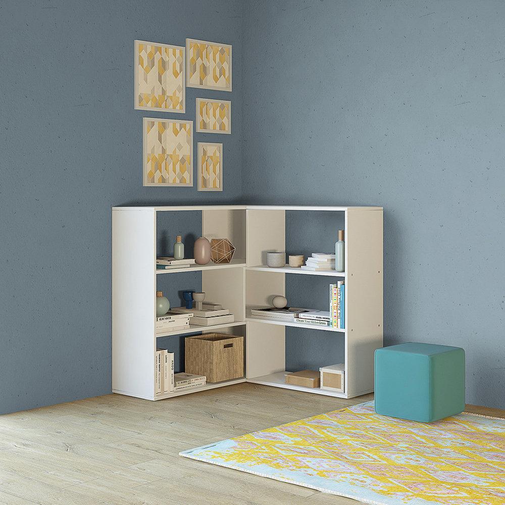 Libreria twinny bianco casa nuova arredo nuovo for Nuova arredo inserimenti
