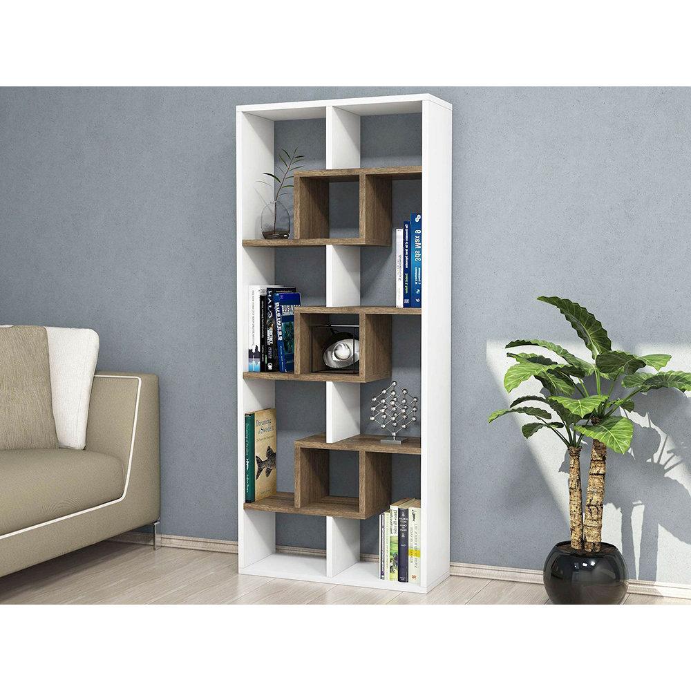 Libreria luter bianco legno casa nuova arredo nuovo for Nuova arredo inserimenti
