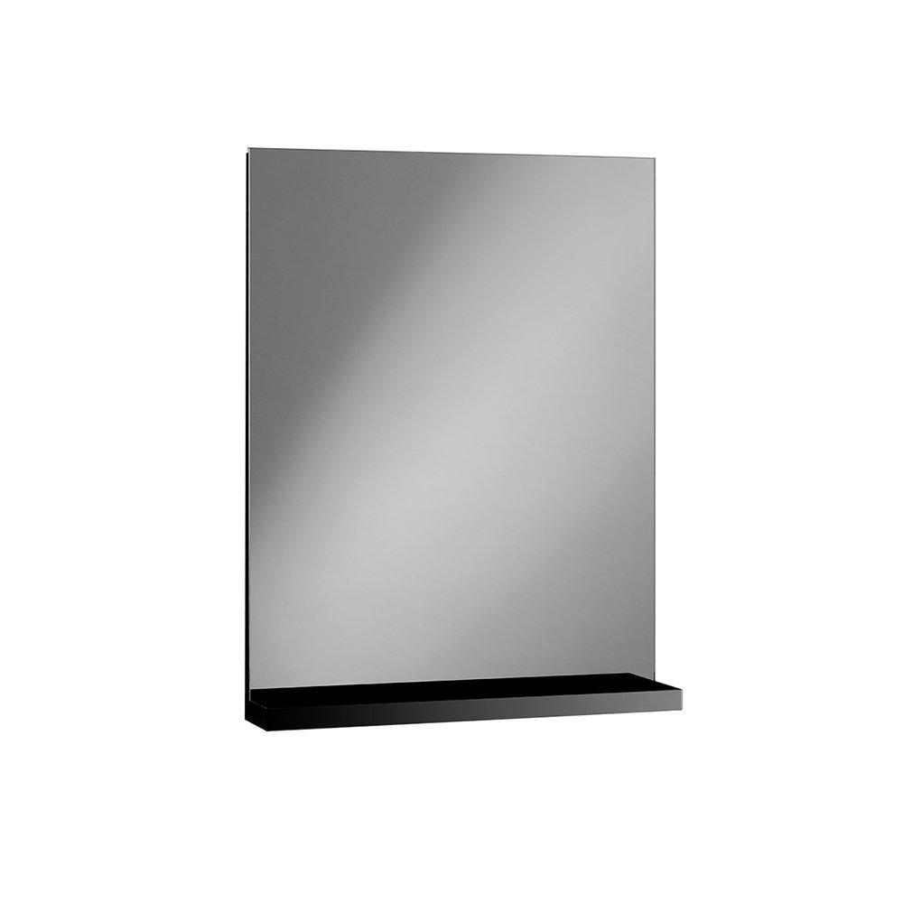 Specchio con mensola NIKKO, nero - TFT Bagno - Acquista su Ventis.