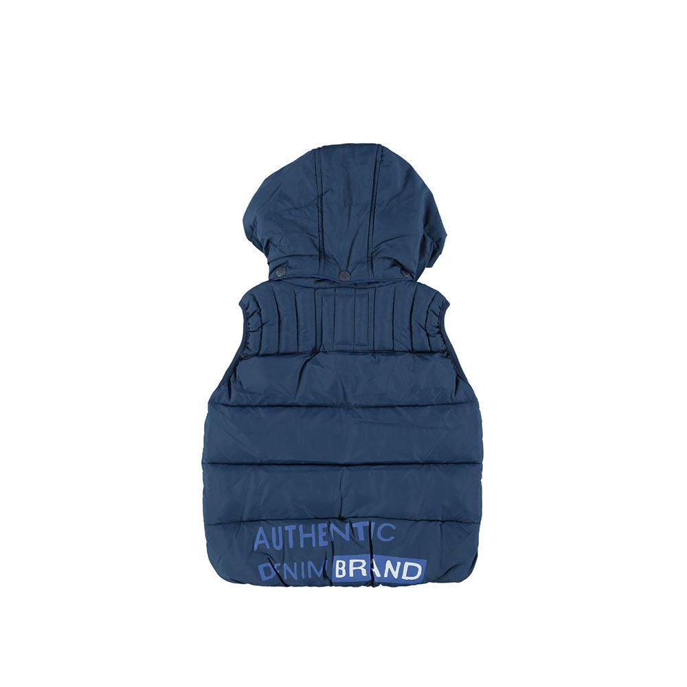 uk availability eb796 35c3a Piumino blu smanicato - PEPE JEANS BAMBINO - Acquista su Ventis.