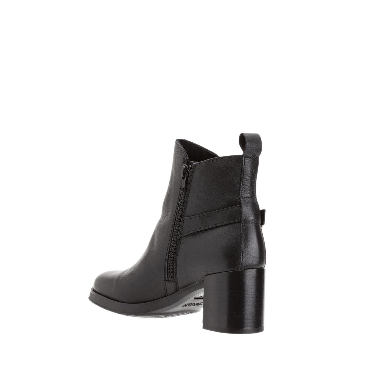 negozio online 3ac68 74f70 Stivaletti con tacco in pelle neri - FRAU - Acquista su Ventis.