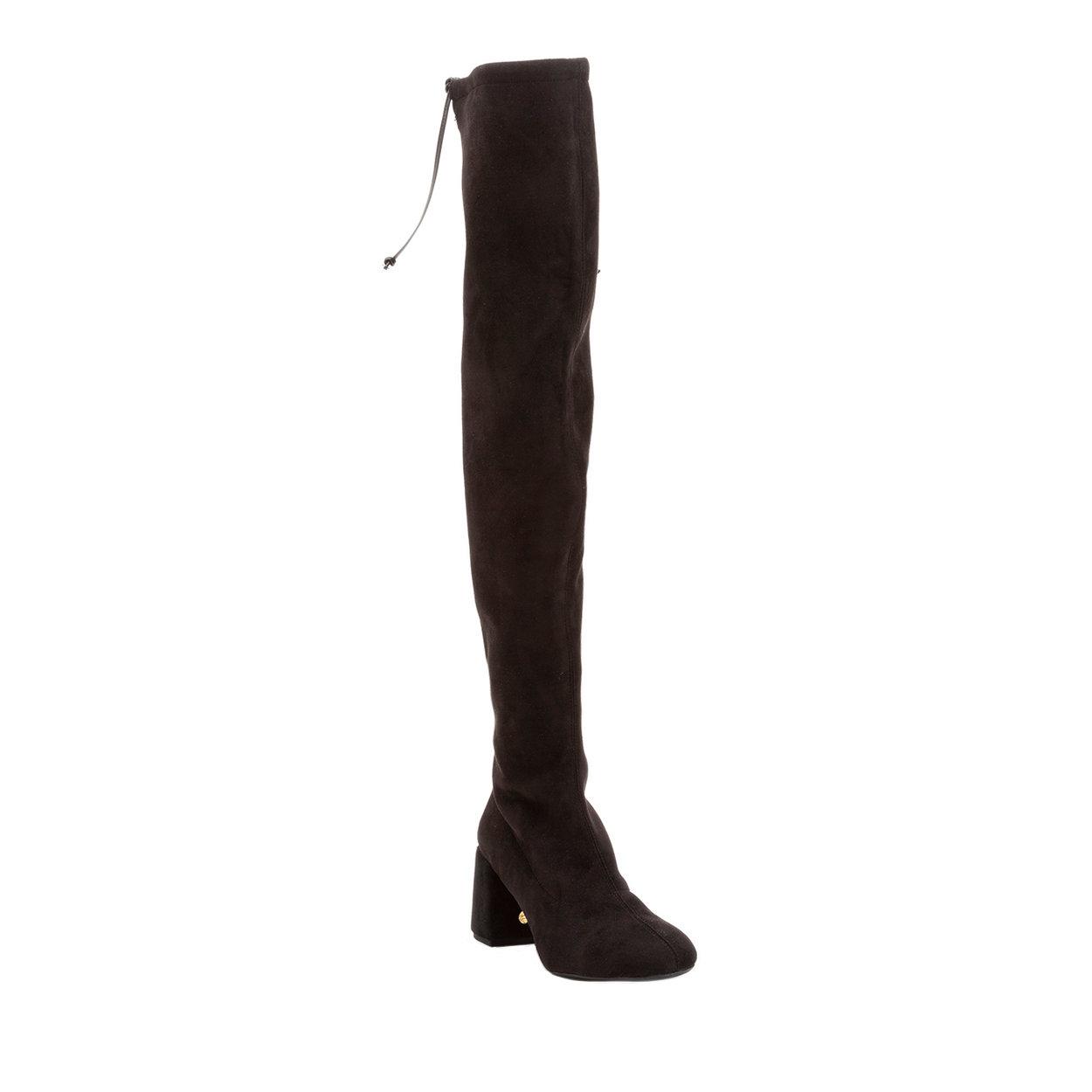 Stivali sopra al ginocchio con tacco neri FRAU Acquista su Ventis.