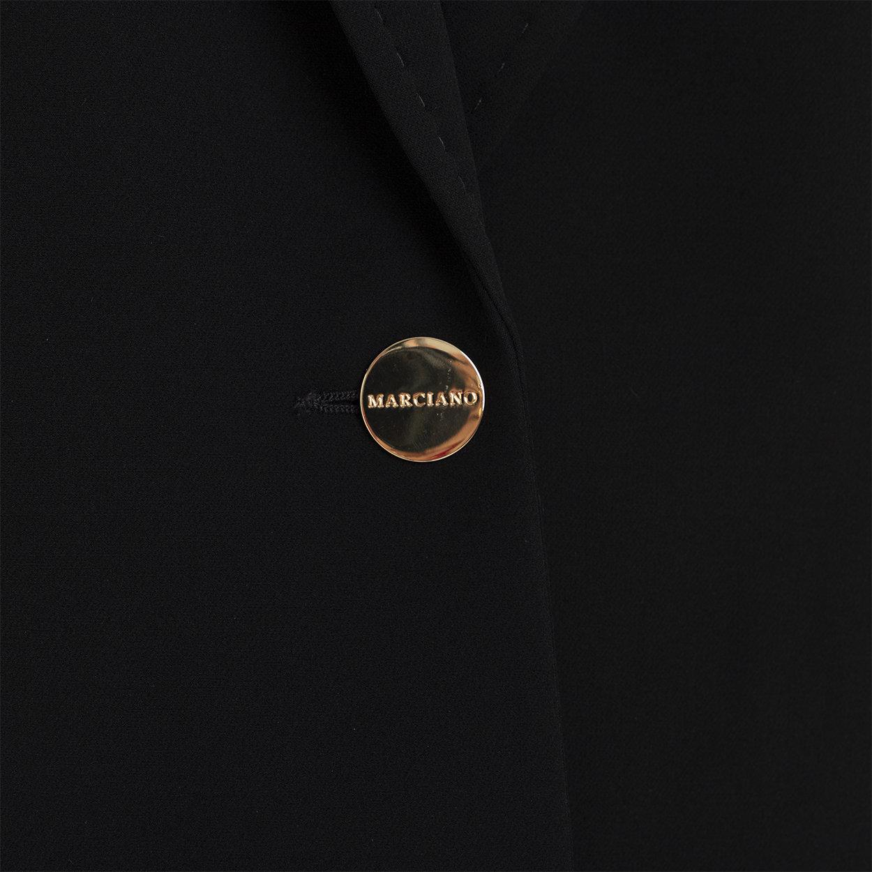 Blazer in tessuto stretch nero Guess by Marciano Acquista su Ventis.