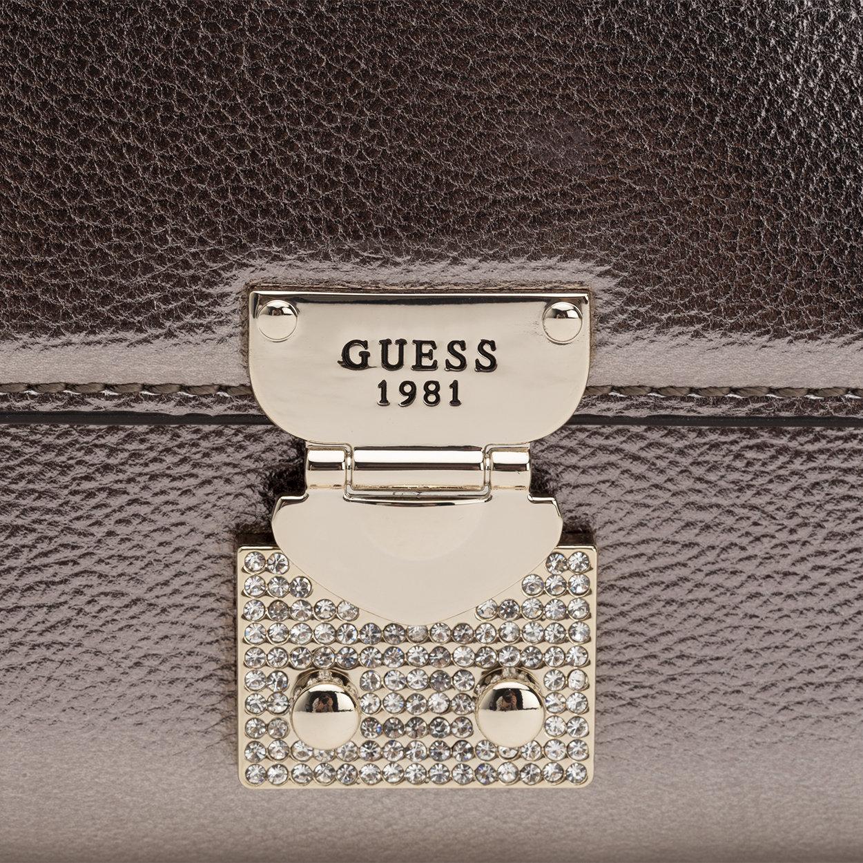 Borsa a tracolla Lynda mini oro Guess Borse Acquista su Ventis.