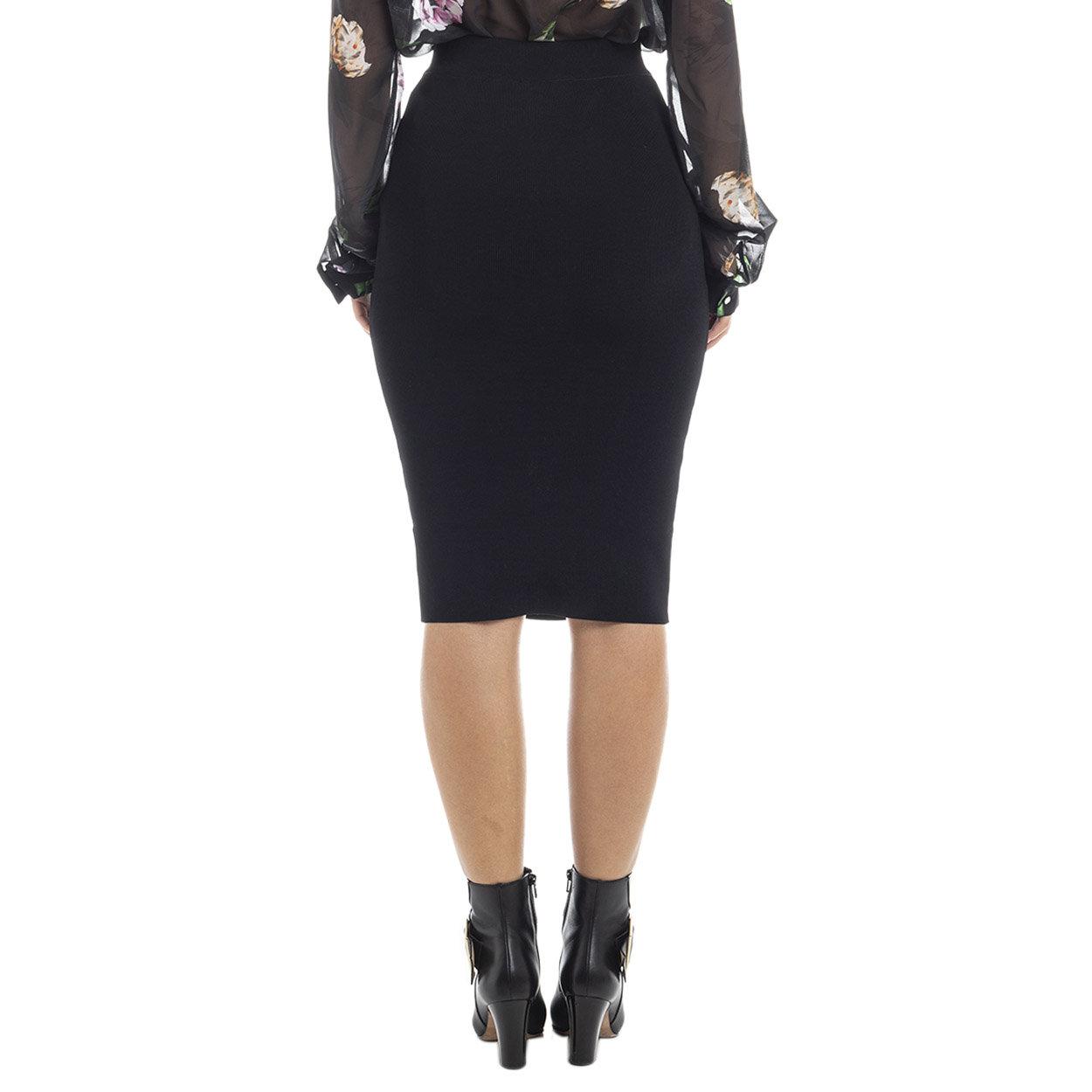 Longuette con dettaglio a corsetto nera Guess by Marciano Acquista su Ventis.