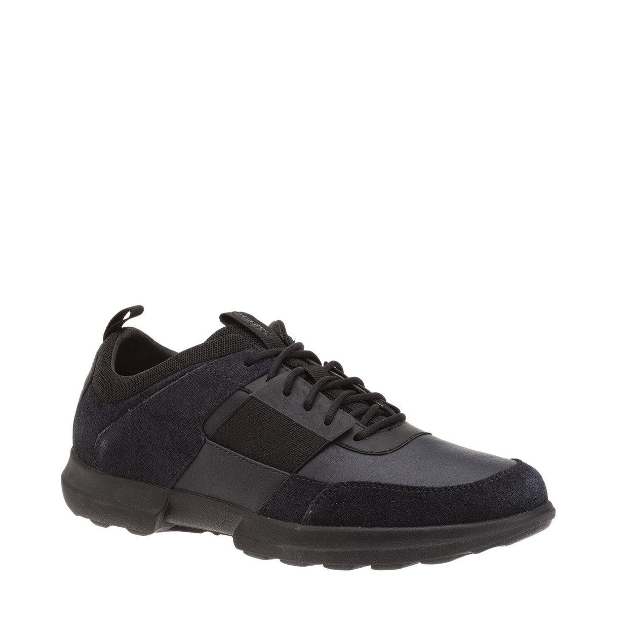 Sneakers Traccia B in suede e pelle multicolor GEOX SCARPE Acquista su Ventis.