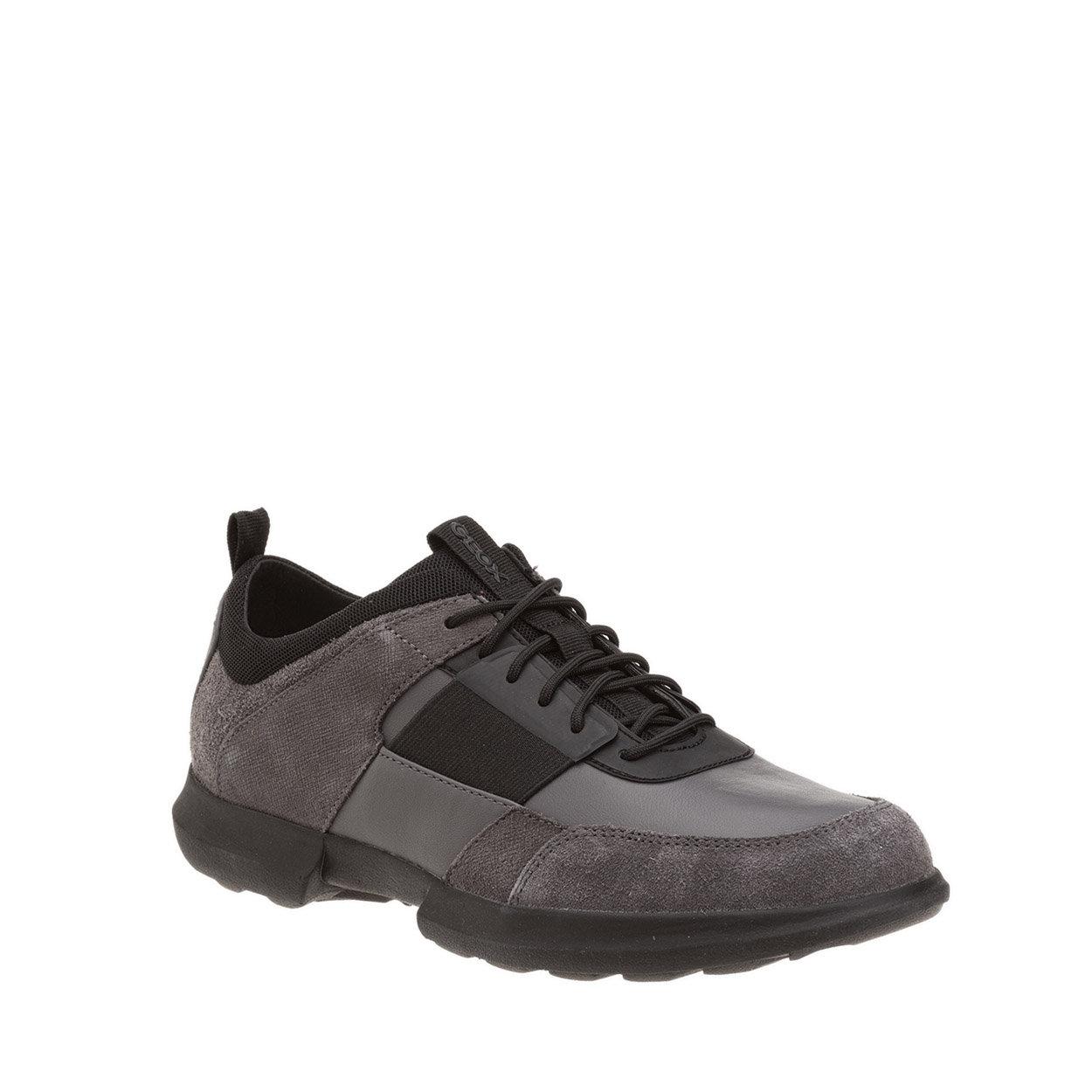 Sneakers Traccia B in suede e nappa multicolor GEOX SCARPE Acquista su Ventis.