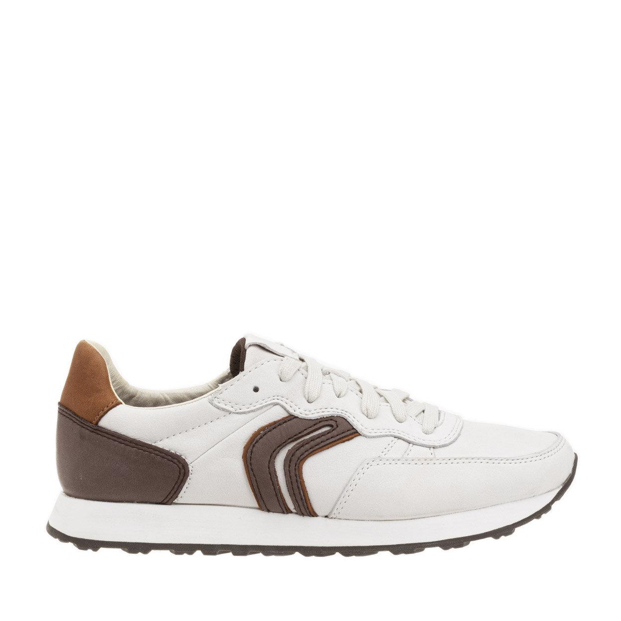 Sneakers Vincit in pelle con dettagli a contrasto bianche