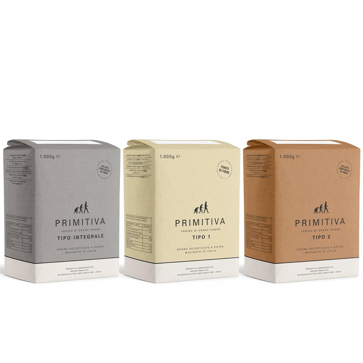3 farine da 1 kg - Cofanetto MIX Primitive