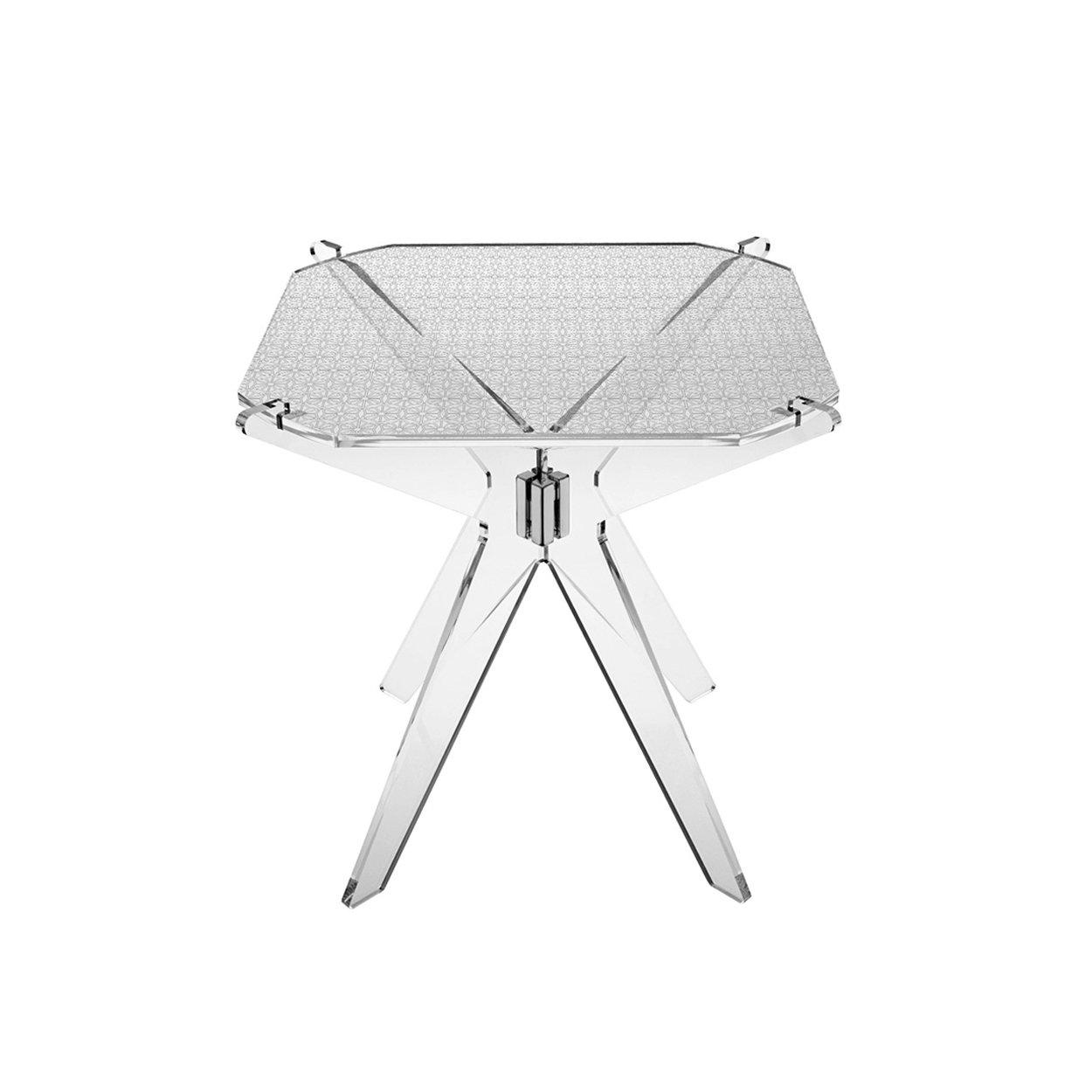 Tavolini Da Salotto Plexiglass.Gliss Aron Tavolino Da Salotto In Plexiglass Lucesolida