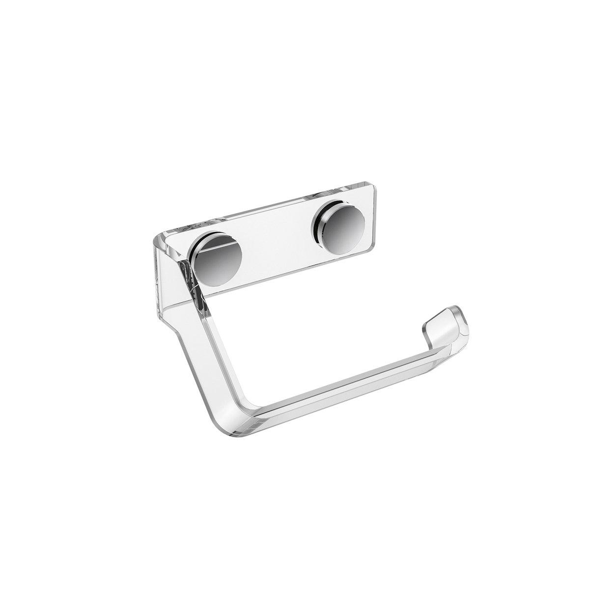 Porta Carta Igienica Originali air portacarta destro porta rotolo carta igienica destro in plexiglass -  lucesolida