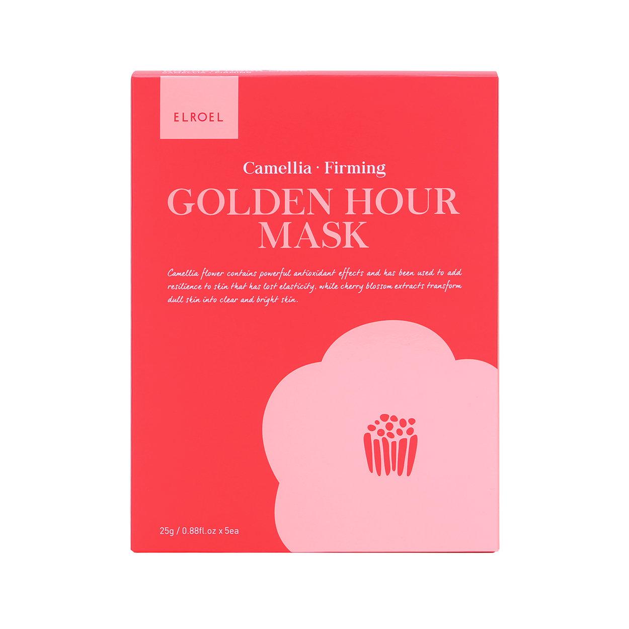Image of 5 Maschere Monouso Golden Hour - Camellia