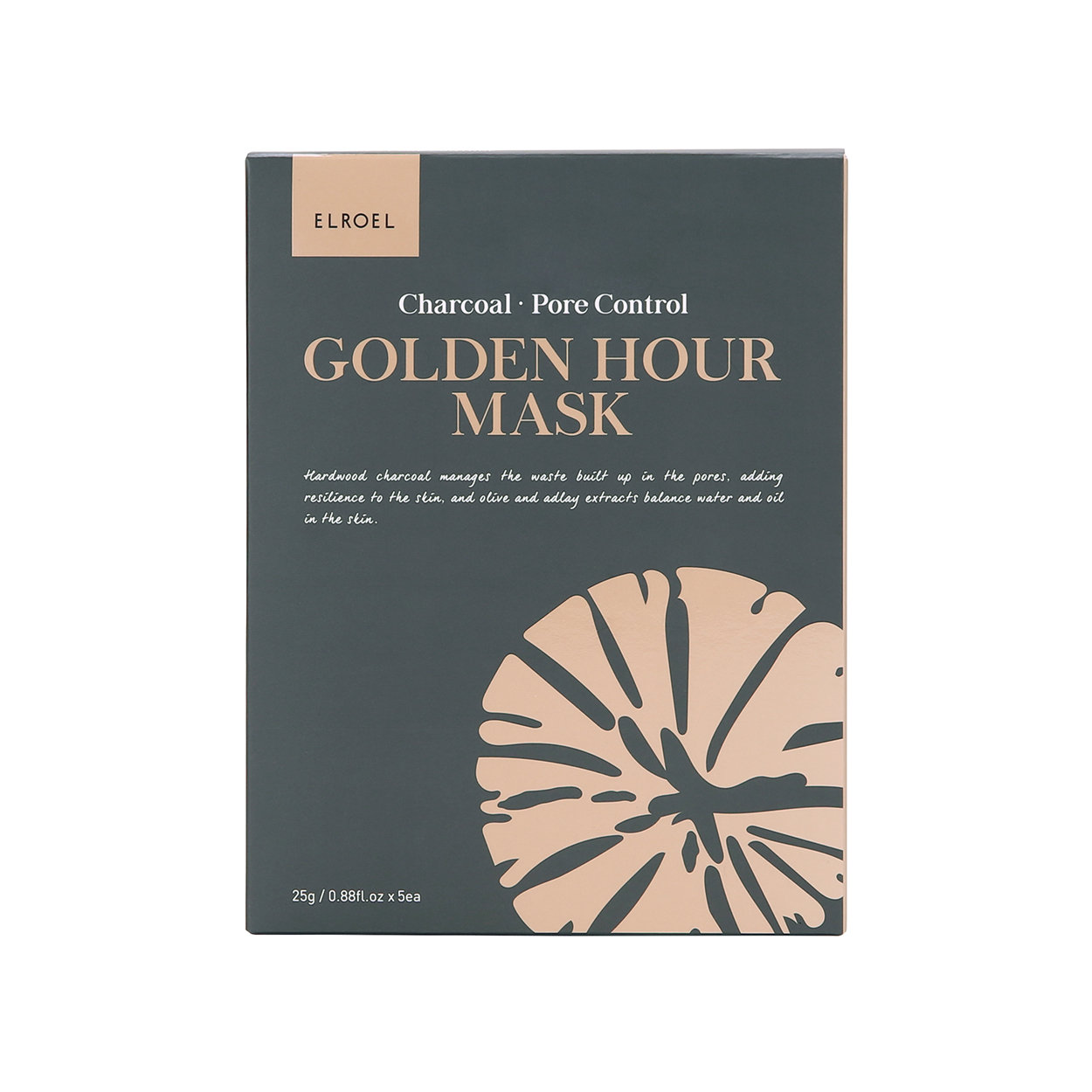 Image of 5 Maschere Monouso Golden Hour - Charcoal