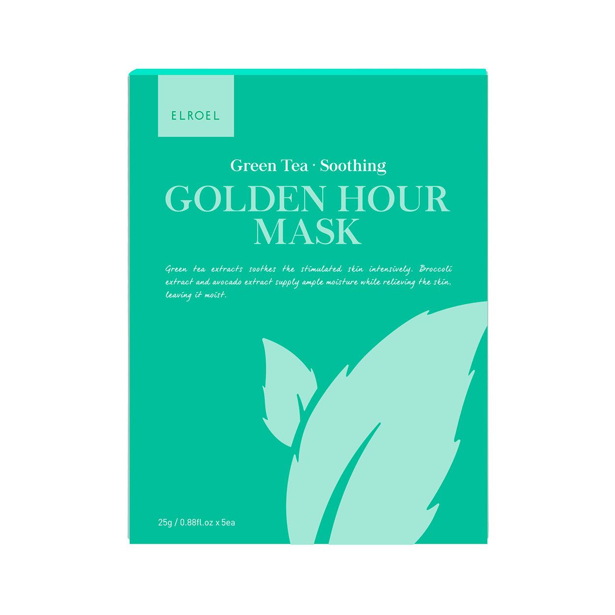 Image of 5 Maschere Monouso Golden Hour - Green Tea