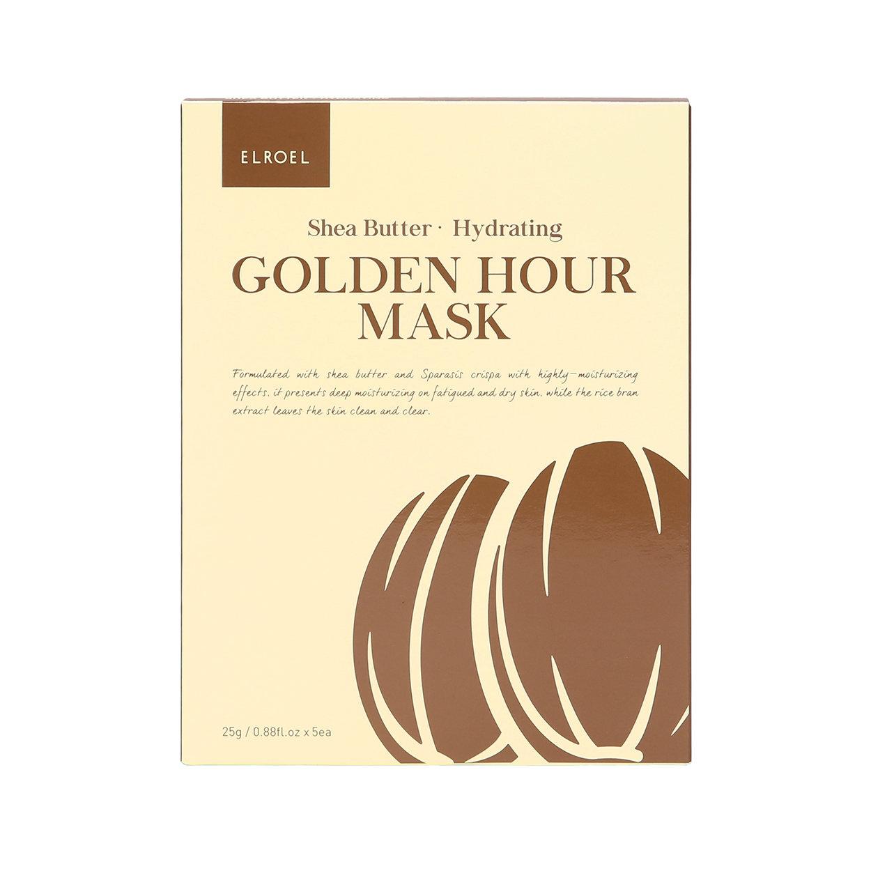 Image of 5 Maschere Monouso Golden Hour - Shea Butter