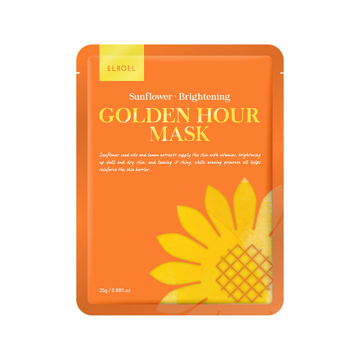 Image of 5 Maschere Monouso Golden Hour - Sunflower