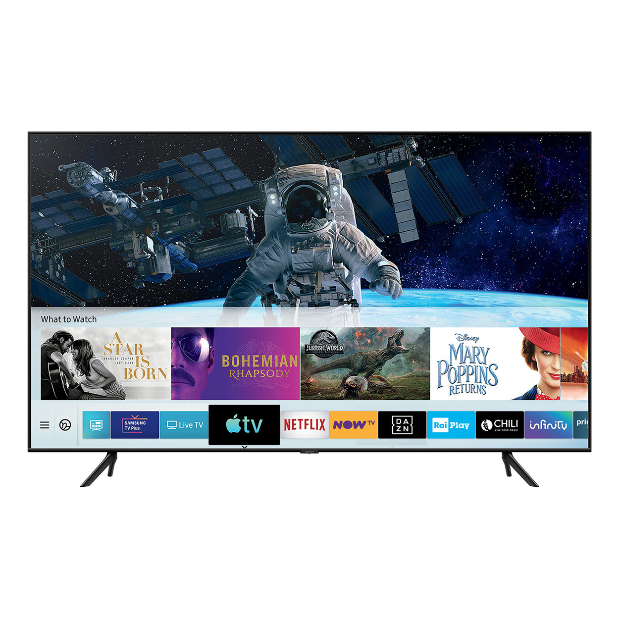 "Image of Samsung QLED 4K 55"", Smart TV, nero"
