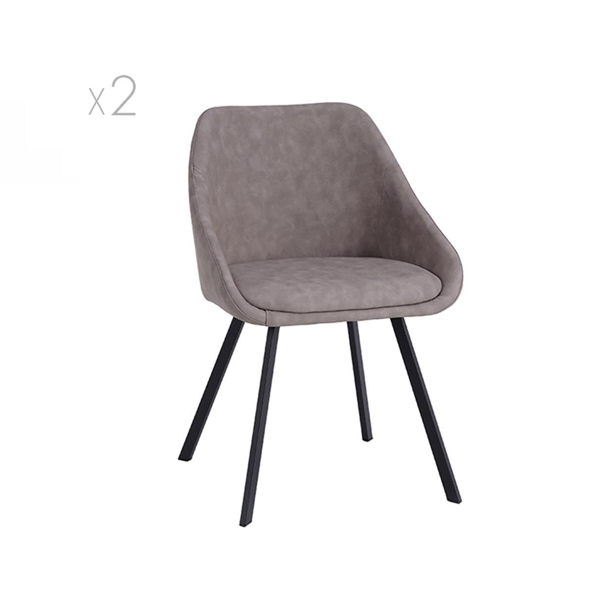 Set Of 2 Chairs Monza Melange Dove Dove Tavoli E Sedie Purchase On Ventis