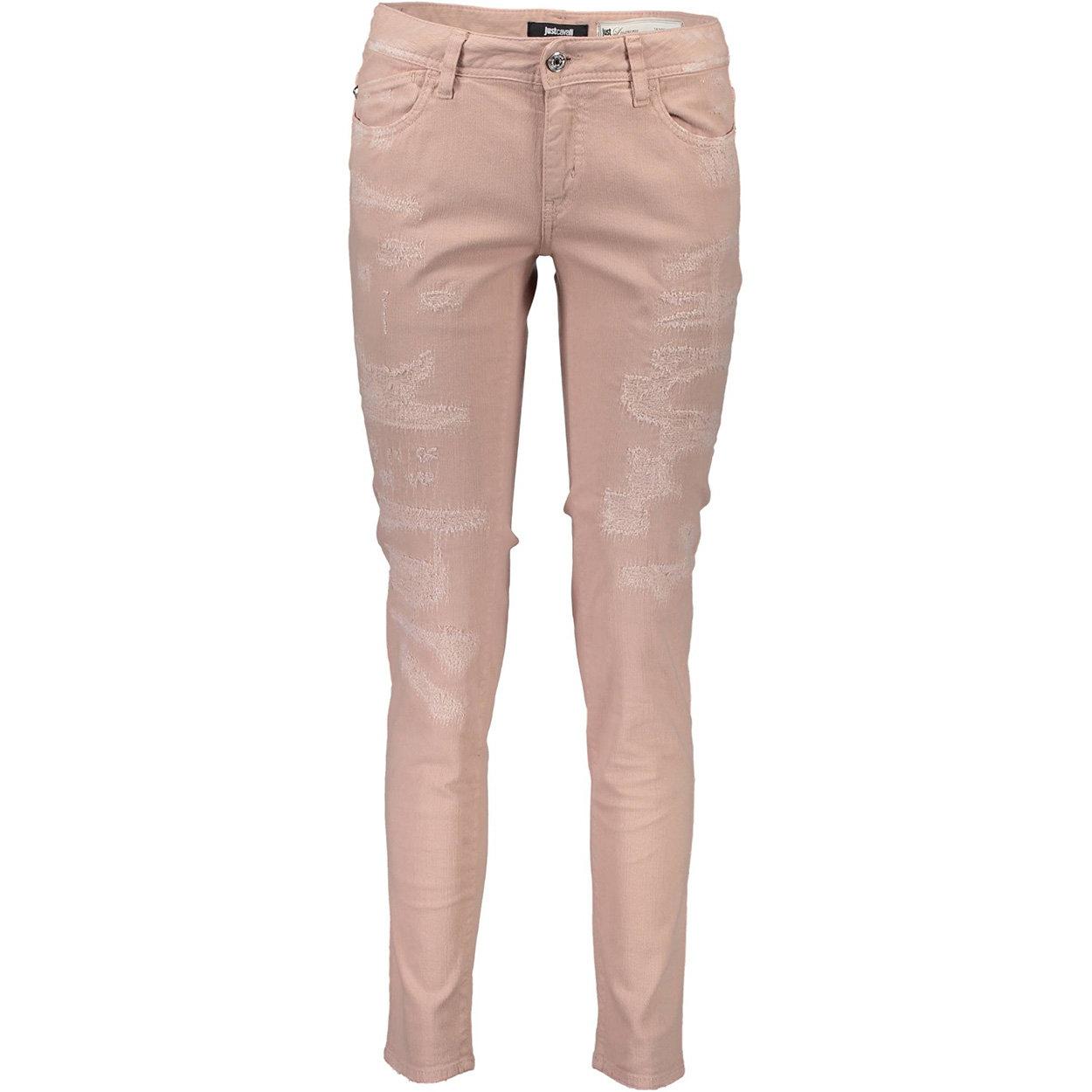 Pantalone rosa 5 tasche