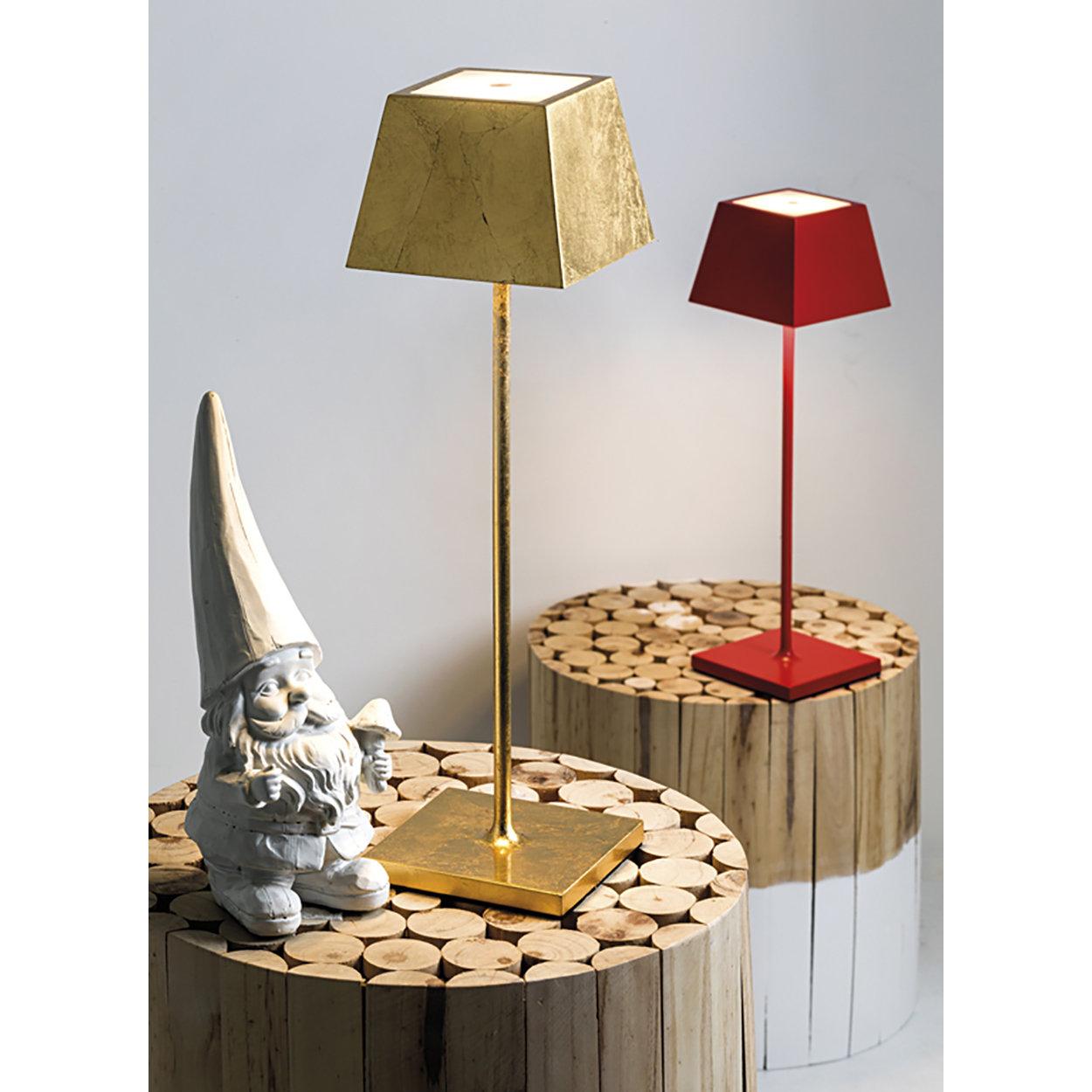 Lampada Da Tavolo Siesta Foglia Oro Lampade Ricaricabili In Out By Rossini Illuminazione Acquista Su Ventis