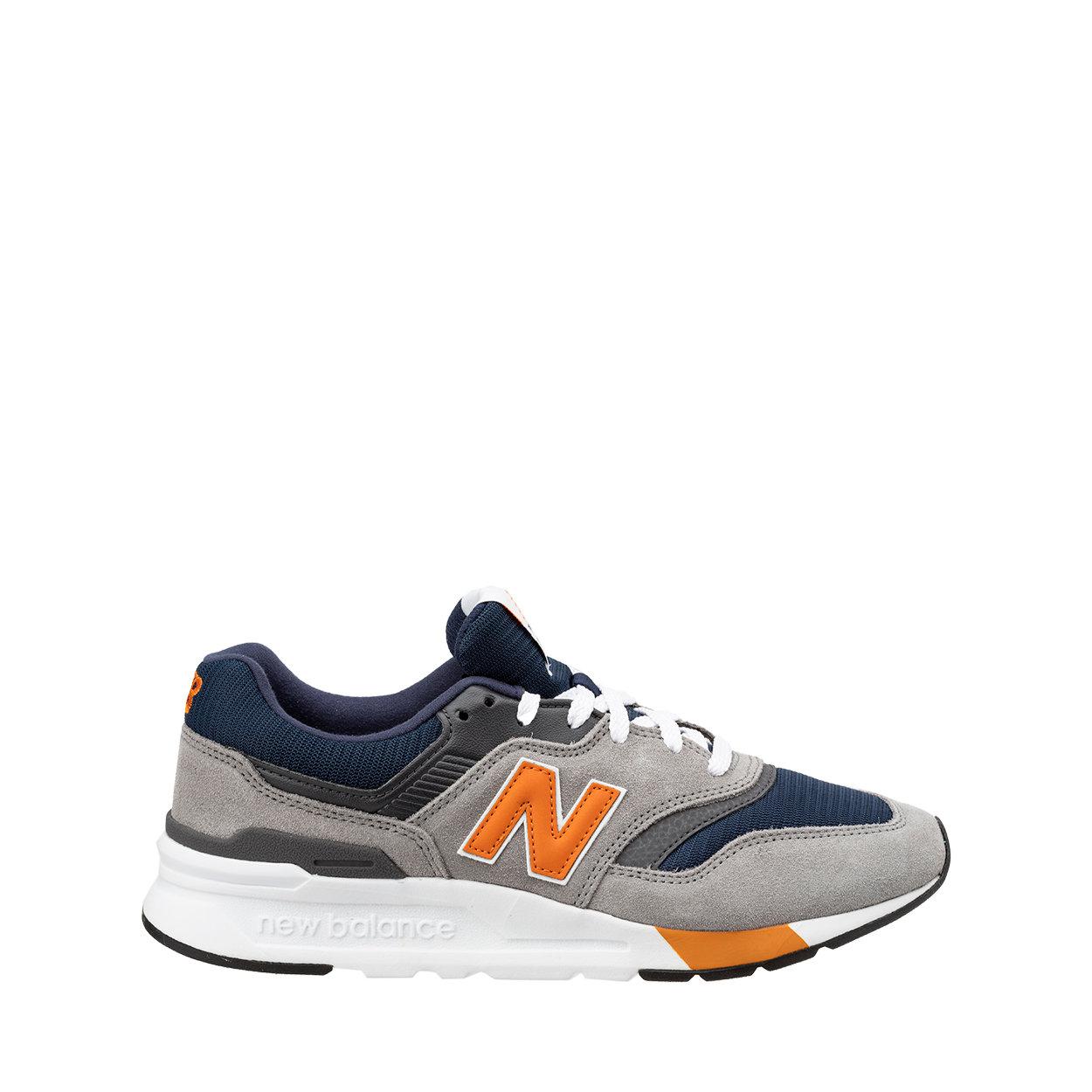 Credemshop by Ventis - Sneakers 997H grigio, blu e arancio