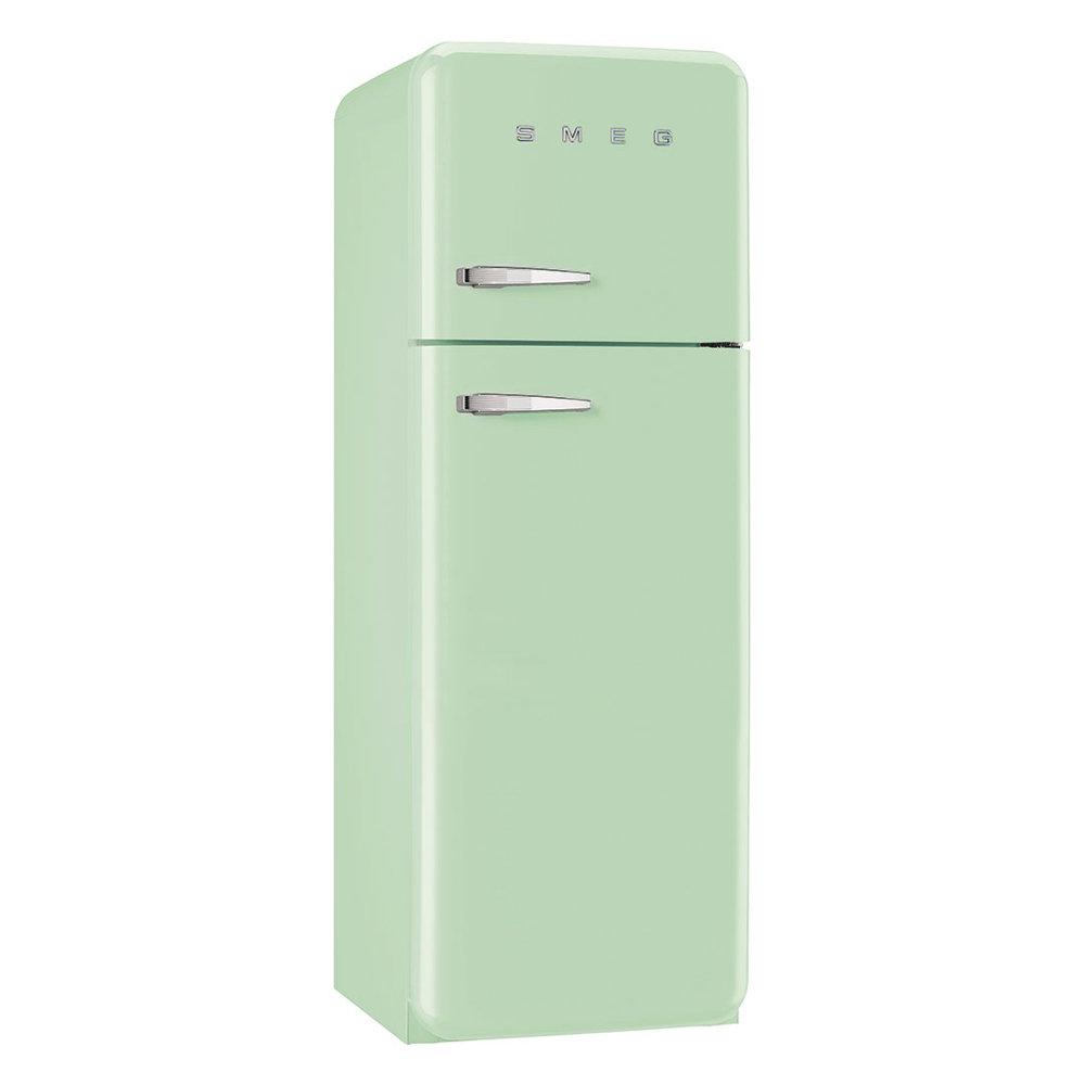 Anni 50 Frigorifero Smeg frigorifero due porte anni '50, verde - smeg - acquista su ventis.