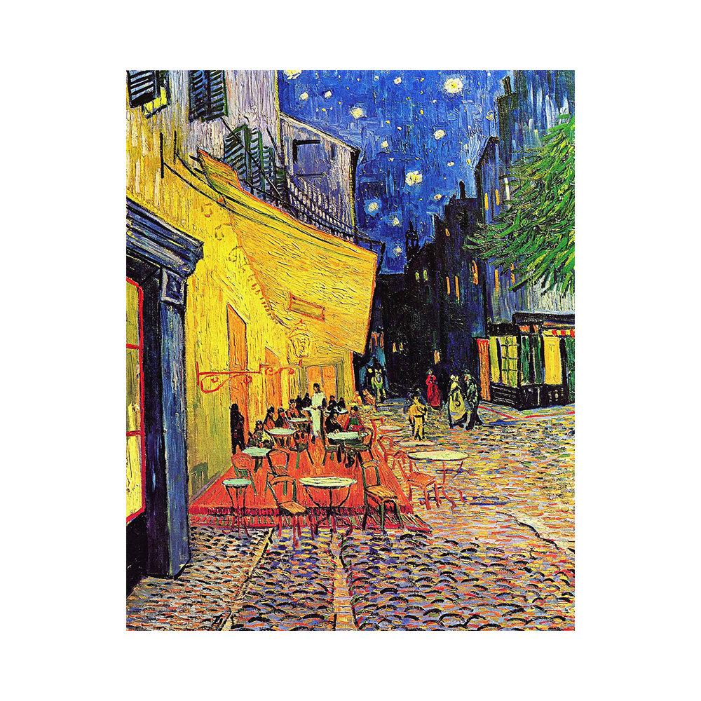 Stampa Su Tela Vincent Van Gogh Terrazza Del Caffè La Sera L Arte Del Regalo Acquista Su Ventis