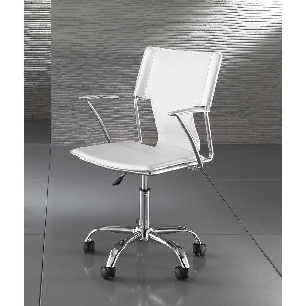 Sedia da ufficio lynx bianco office design for Design sedia ufficio