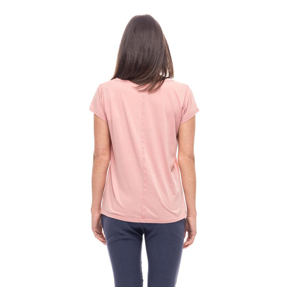 Ventis rosa su T Dressai a e shirt ricami V Acquista con scollo wx0ZFPw