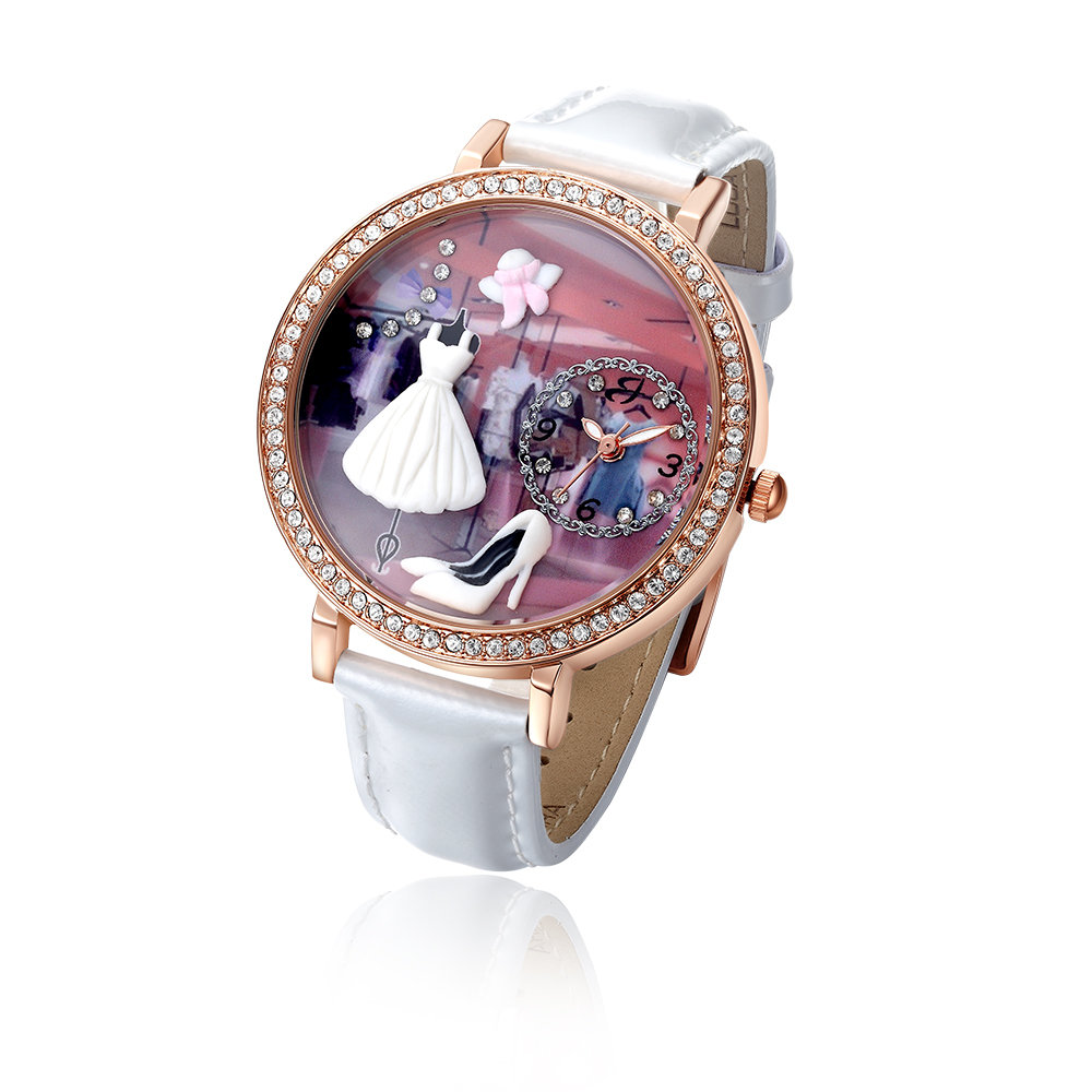 sito affidabile 7fe86 f0092 Orologio passione moda, bianco - Luca Barra - Acquista su Ventis.