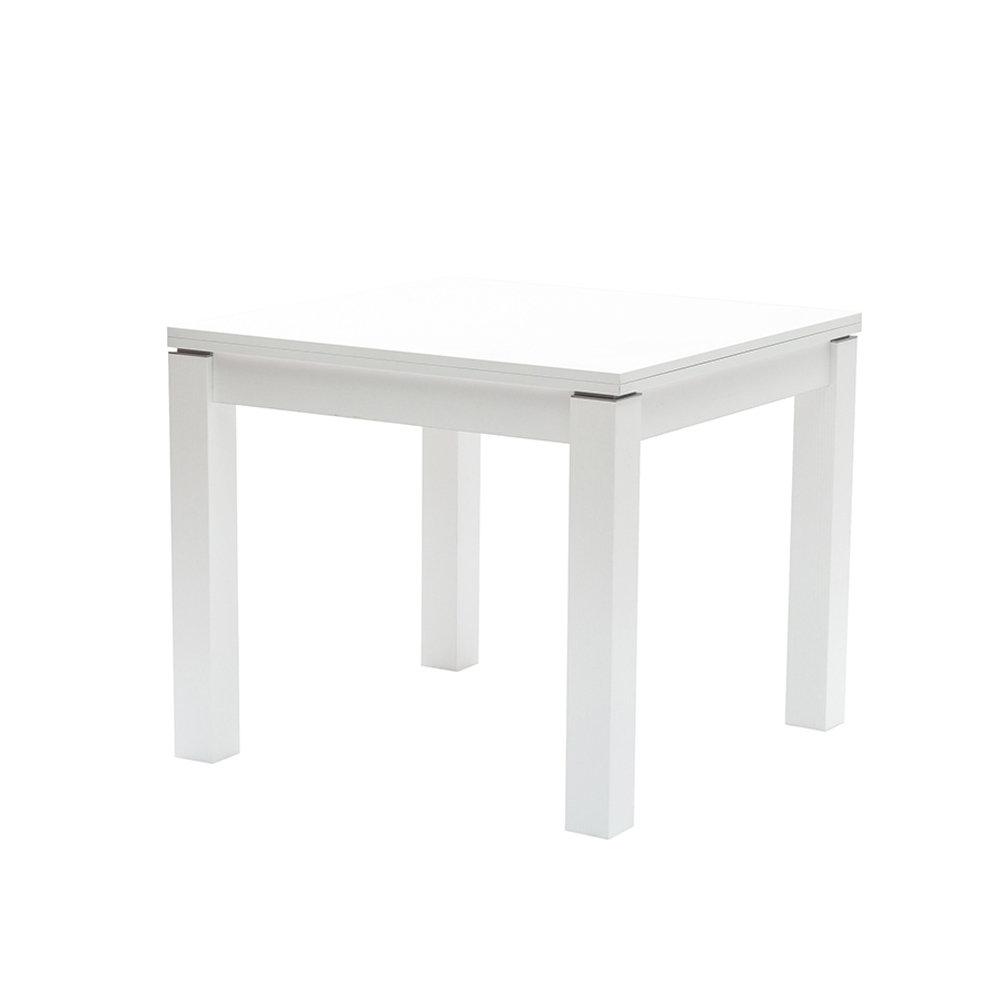 Tavolo allungabile SAVIO 90X90 in legno e melaminico larice bianco -  Mediterraneo Indoor - Acquista su Ventis.