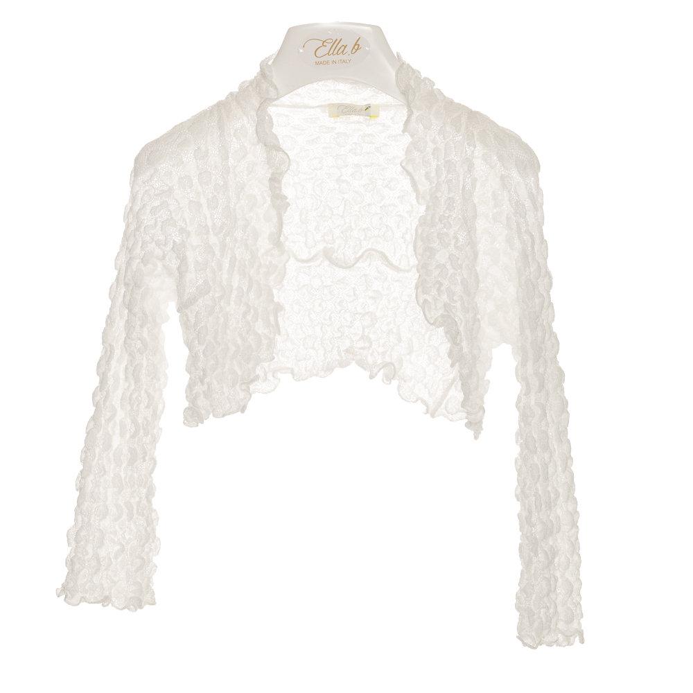 finest selection a883c 3398d Coprispalla elasticizzato, bianco - ELLA.B. - Acquista su Ventis.