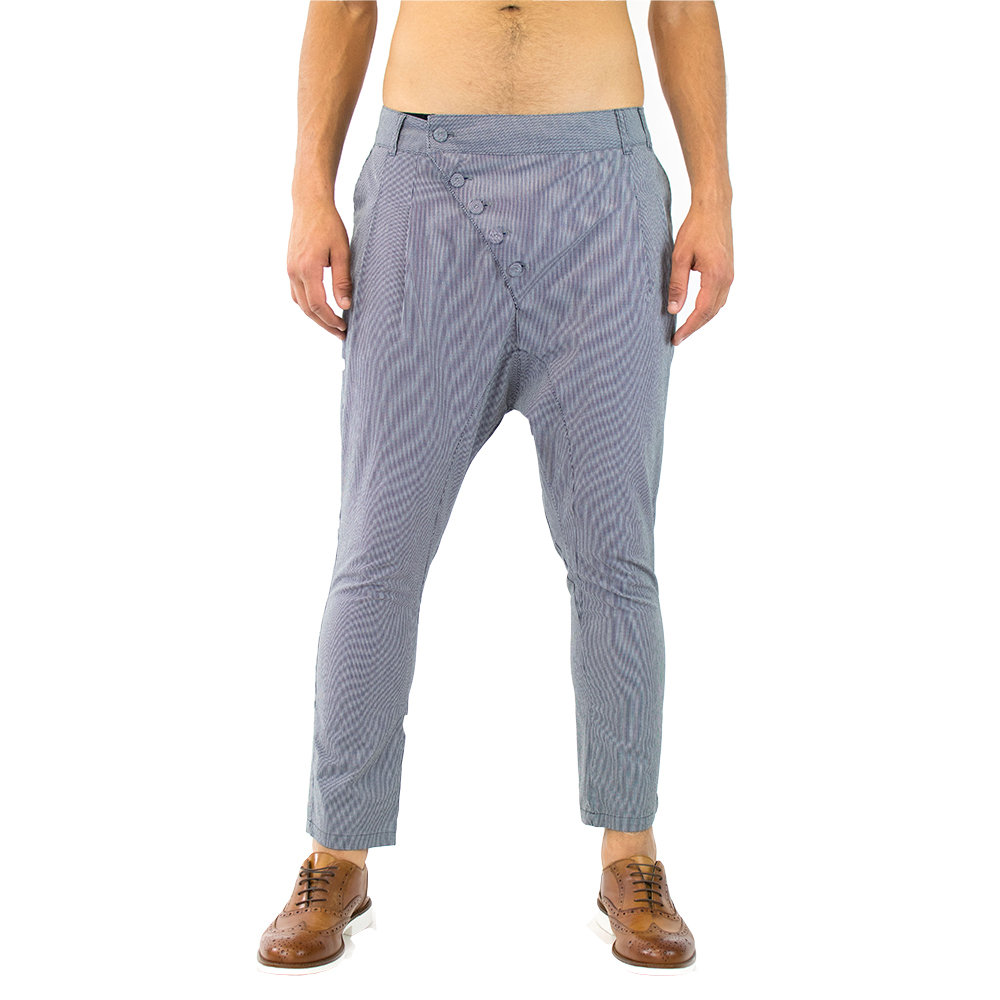 Pantaloni Acquista Con Allacciatura Primo Emporio Obbliqua Blu rrPwa8q