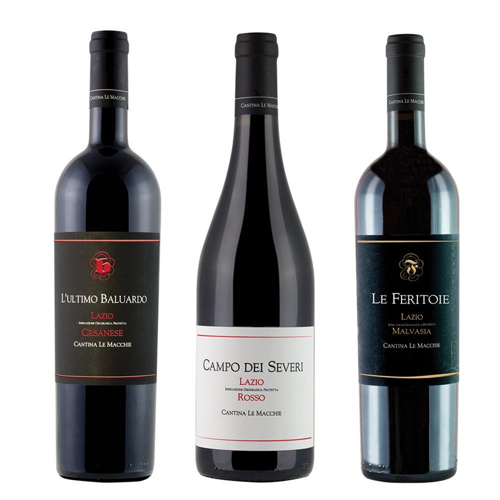 3 bottiglie miste  L Ultimo Baluardo Casanese Lazio IGP 2015 - Campo ... 6652adeb9d0b