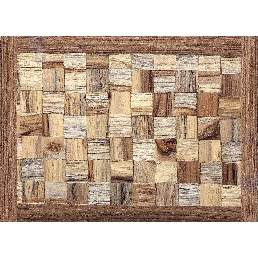 TAPPETI MANIA - Tappeto living 100% velluto in microfibra - legno
