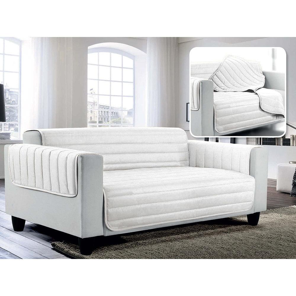 Copridivano trapuntato doubleface elegant bianco arreda il tuo divano acquista su ventis - Crea il tuo divano ...