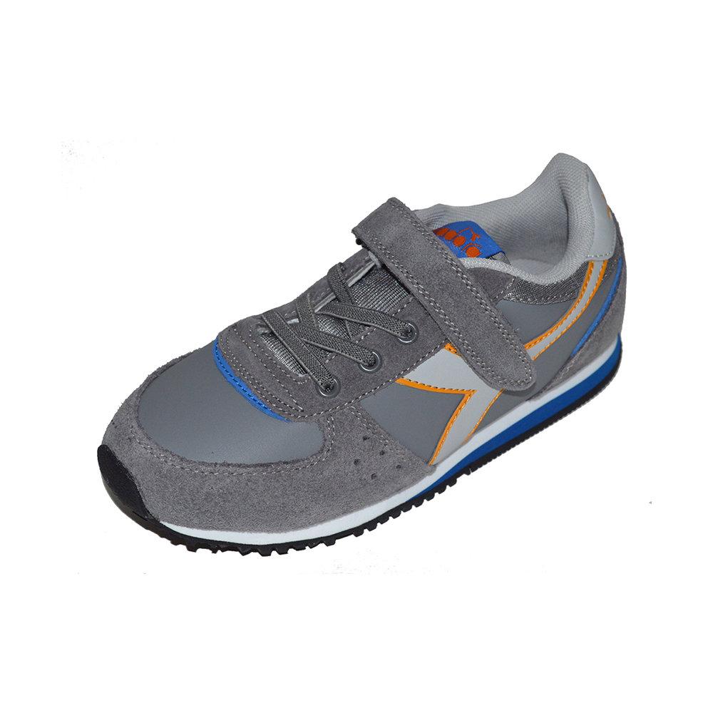 Sneakers Diadora Malone Sl Da Bambino, Grigio Acquista