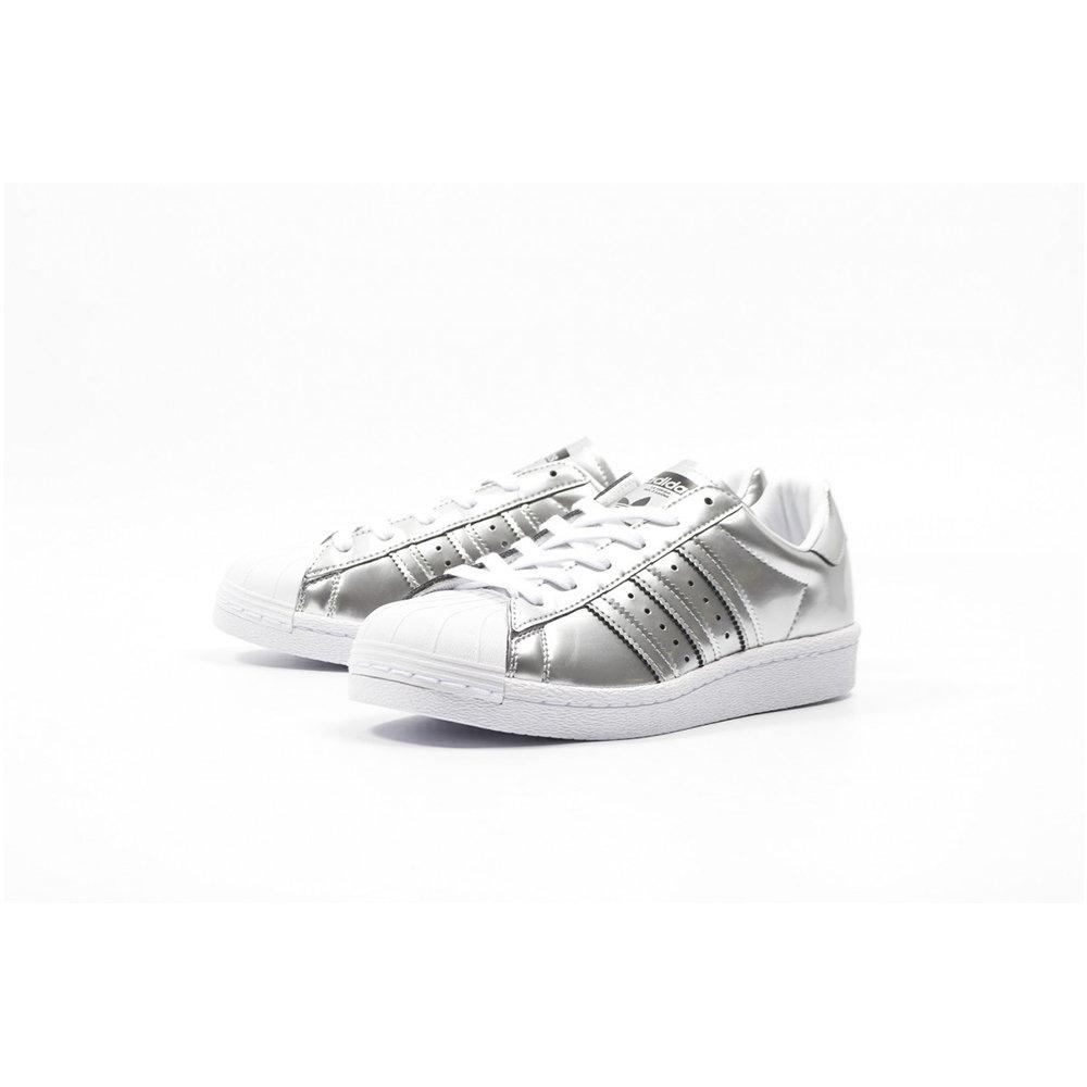 Sneakers Adidas Superstar effetto cromato da donna, silver - ADIDAS - Acquista su Ventis.