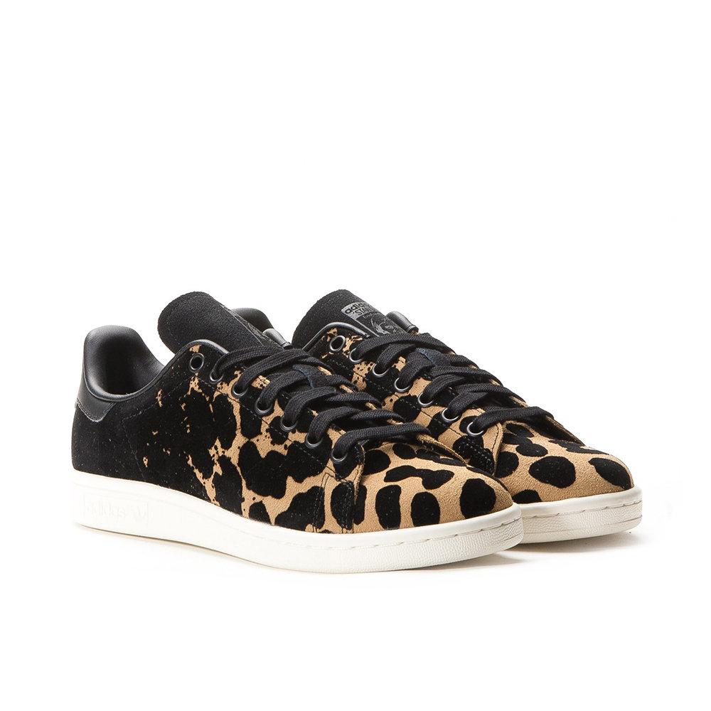 adidas stan smith nere e leopardate