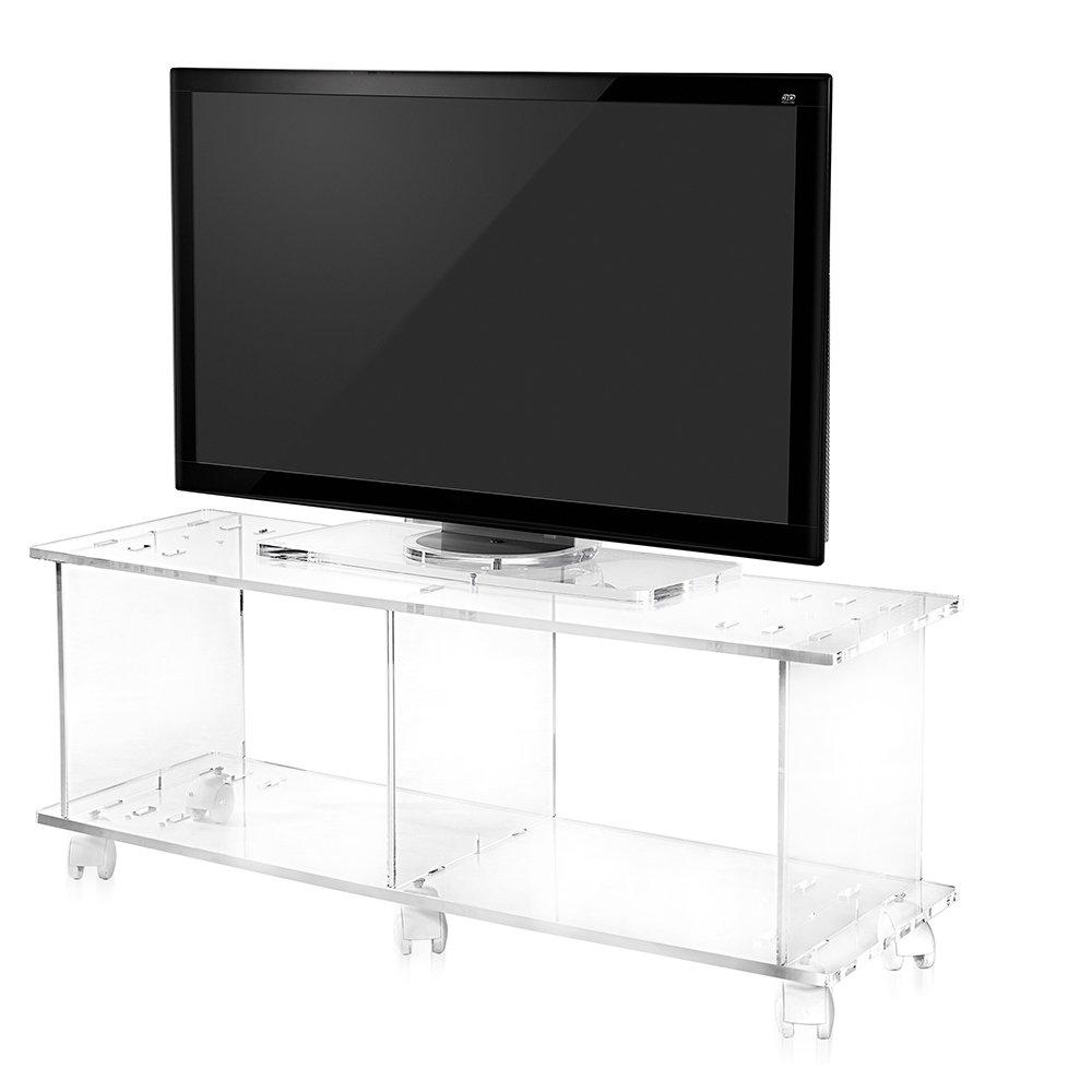 Porta tv imago in plexiglass trasparente iplex - Porta tv plexiglass ...