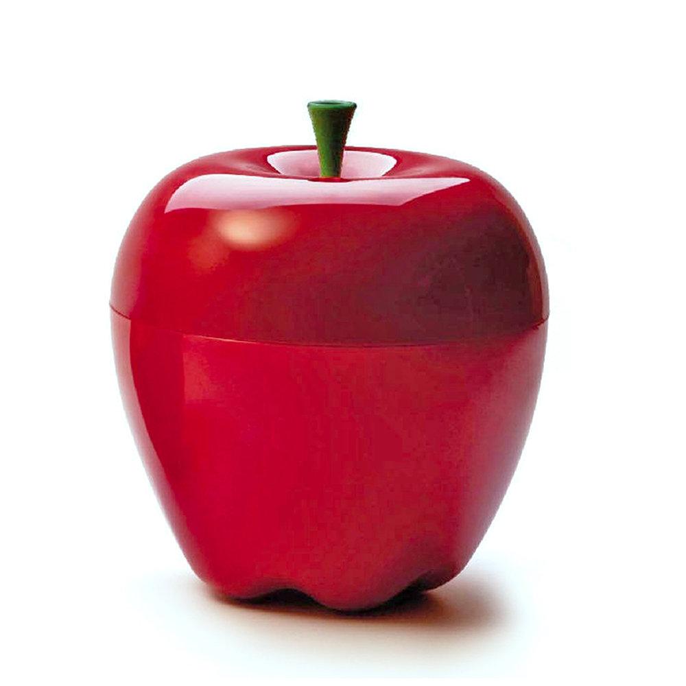 Porta frutta porta oggetti centrotavola mela rosso for Oggetti d arredo particolari