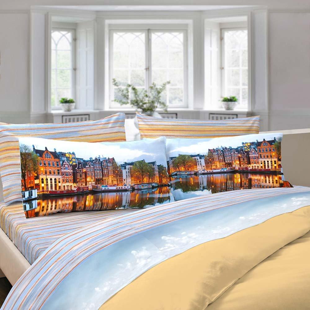 Completo letto amsterdam matrimoniale un viaggio da sogno acquista su ventis - Letto da viaggio ...