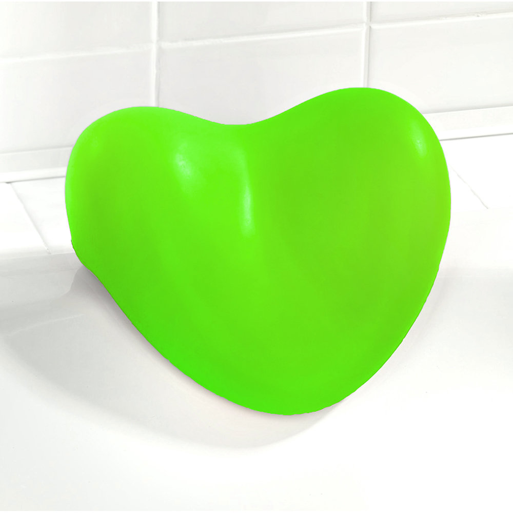 Cuscino poggiatesta relax per vasca da bagno verde - Poggiatesta per vasca da bagno ...