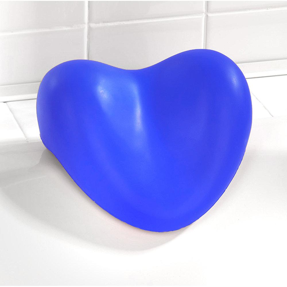 Cuscino Poggiatesta Relax Per Vasca Da Bagno Blu